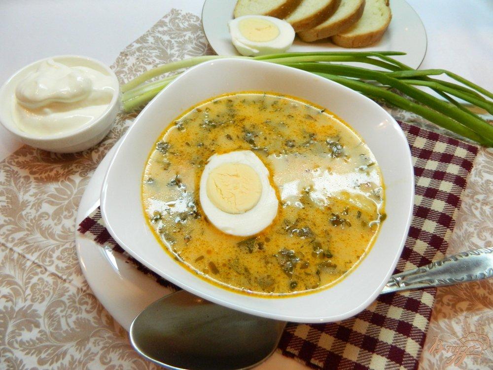 вкусный щавельный суп рецепт с фото