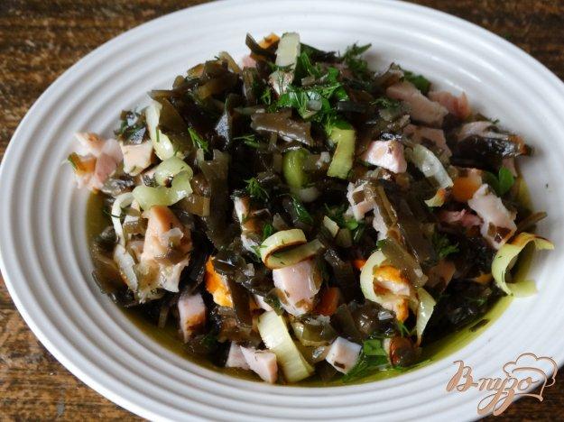 салат с морской капустой диетический