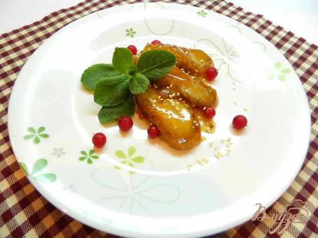 фото рецепта: Жаренные бананы в карамели
