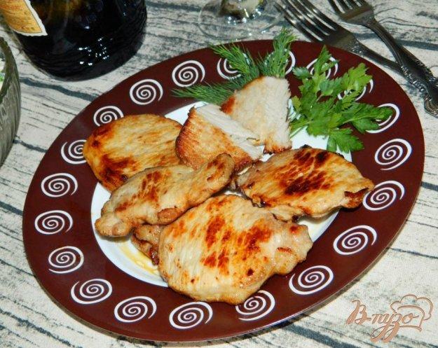 фото рецепта: Свинина в луково-горчичном маринаде
