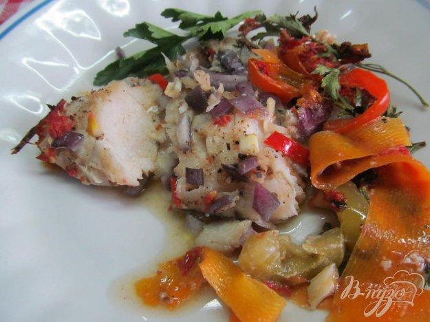 фото рецепта: Рыба запеченная в овощах