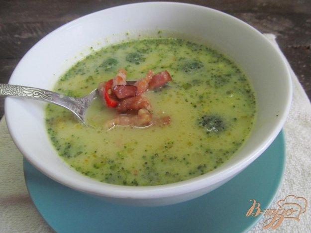 фото рецепта: Картофельный суп пюре с брокколи