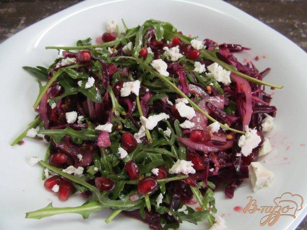 фото рецепта: Салат из красной капусты с апельсиновым соком