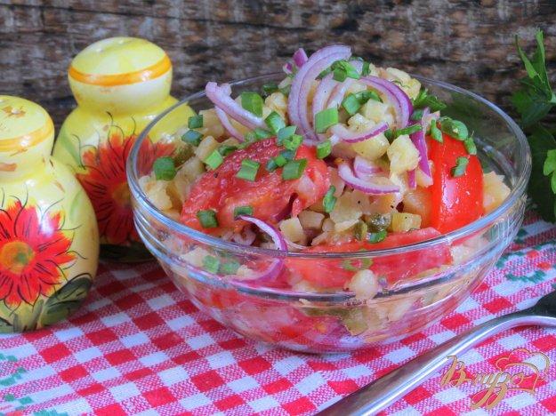 фото рецепта: Салат постный из грибов и овощей