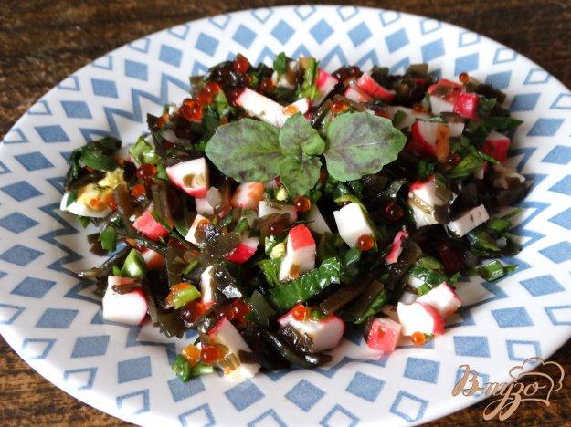 салат из с красной рыбой рецепт с фото