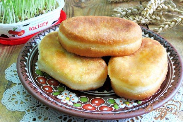 Тонкие жареные пирожки с капустой