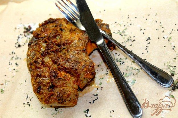 фото рецепта: Свинина на кости с горчицей