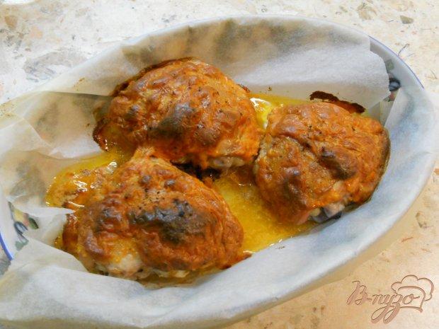 Куриные бедрышки с соевым соусом