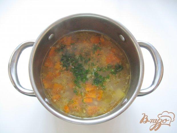 суп гречневый на курином бульоне фото