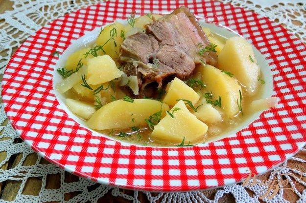 фото рецепта: Похлёбка со свиными рёбрами