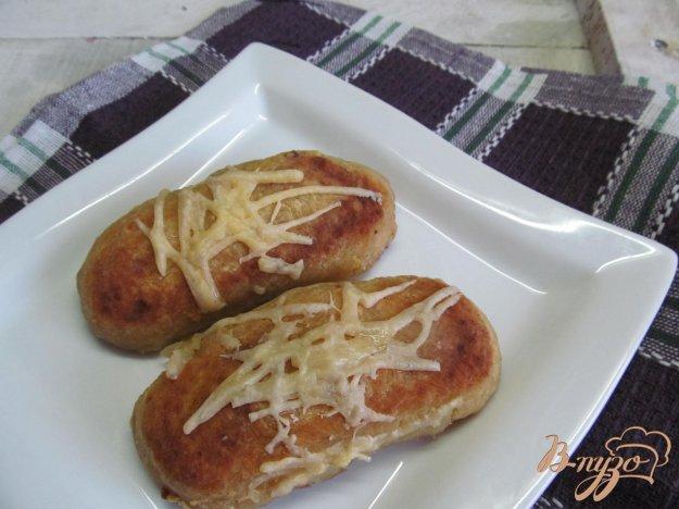 фото рецепта: Картофельные рулеты с фаршем