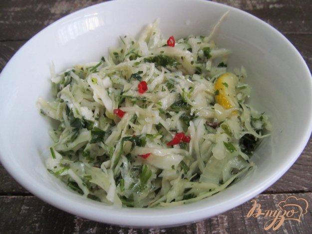 фото рецепта: Греческий салат из капусты