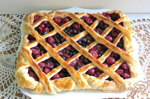 фото рецепта: Открытый пирог с ягодами