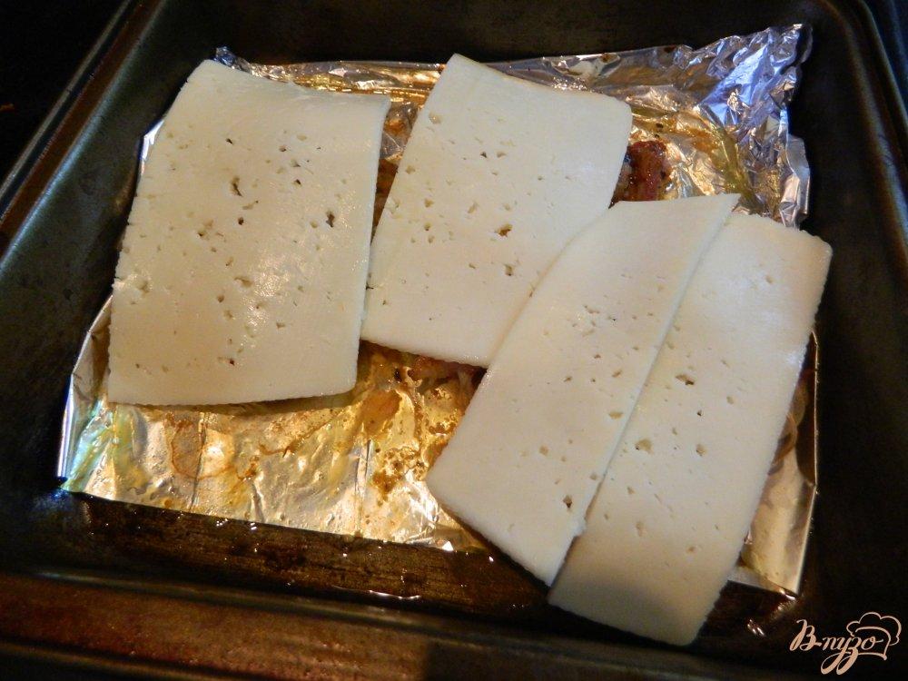 запеченное мясо под сыром в духовке рецепт