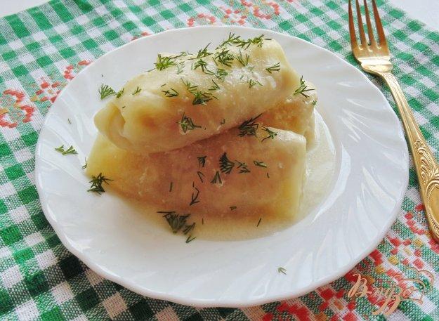 фото рецепта: Голубцы с мясом в сметане