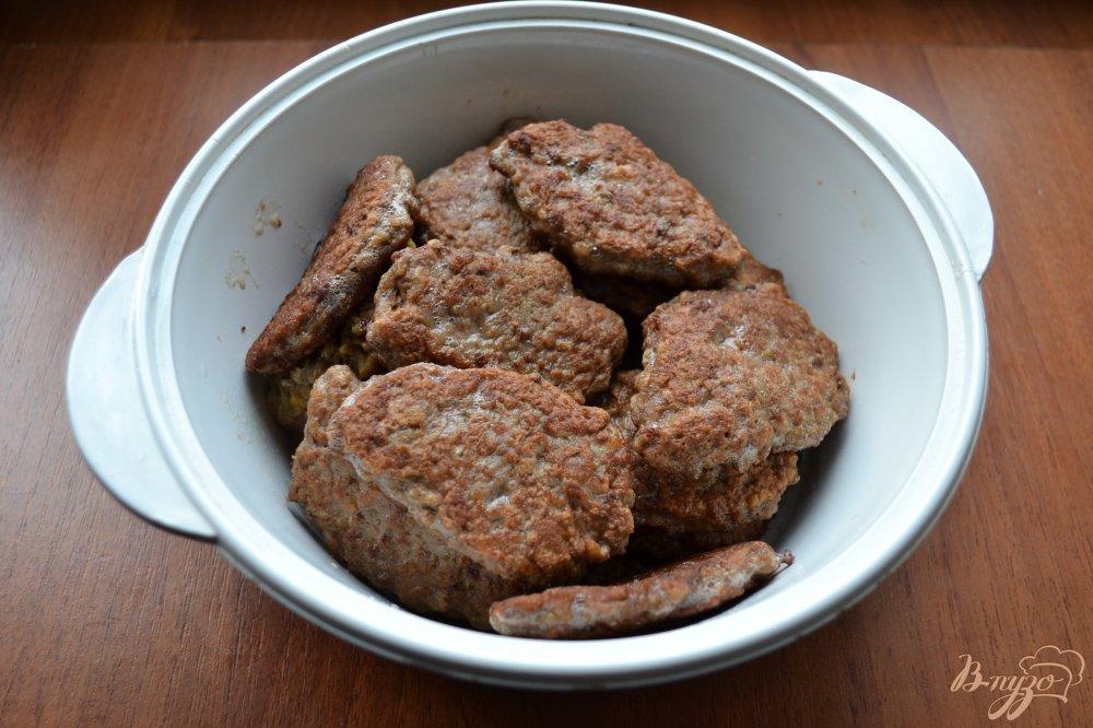 печеночные котлеты салом рецепт фото