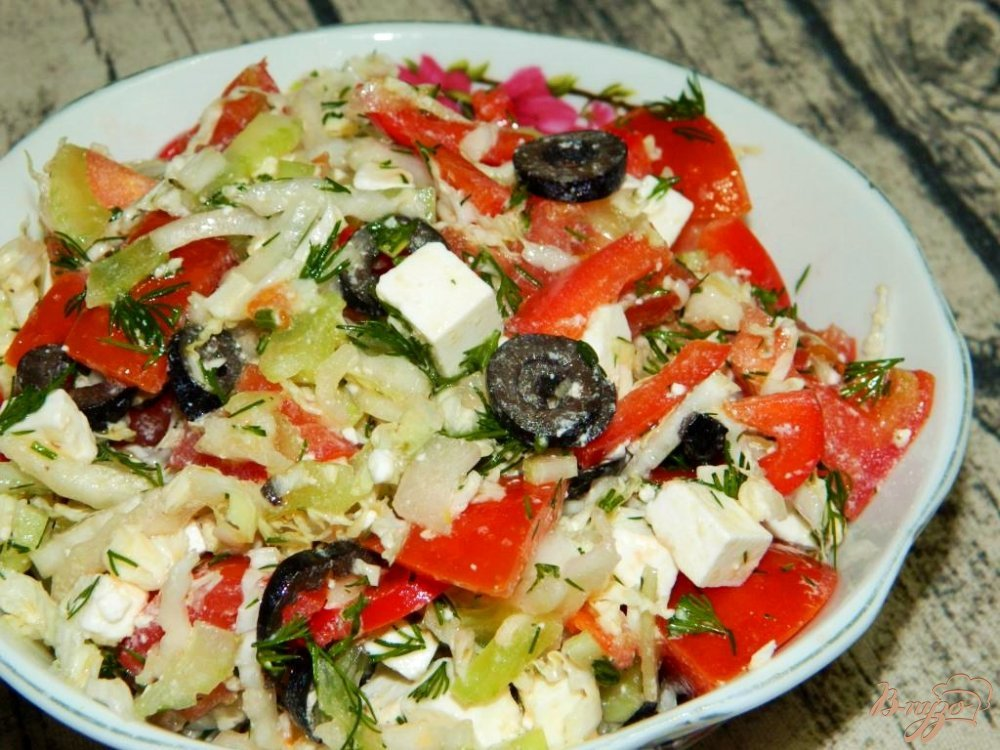 Вкусные салаты с оливками рецепты простые и вкусные