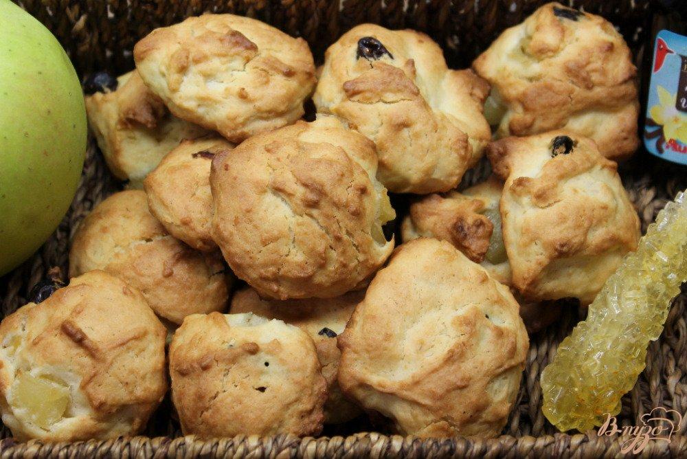 рецепт печенья с изюмом в духовке