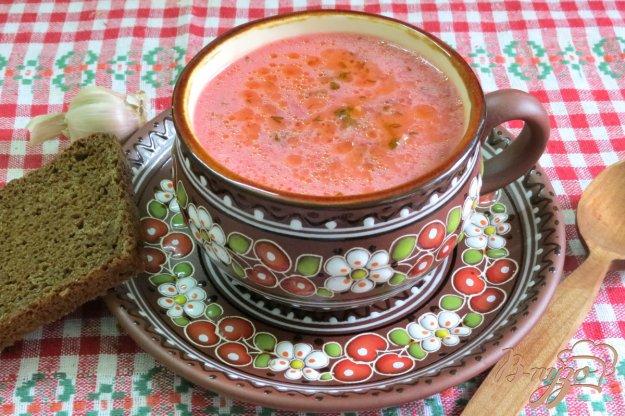 фото рецепта: Свекольник с грибами и телятиной.