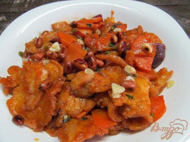 фото рецепта: Свинина в тесте тушенная с овощами
