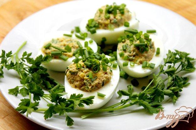 яйца фаршированные тунцом рецепт с фото-хв6