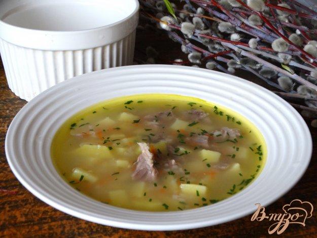 фото рецепта: Суп на свиных ребрышках