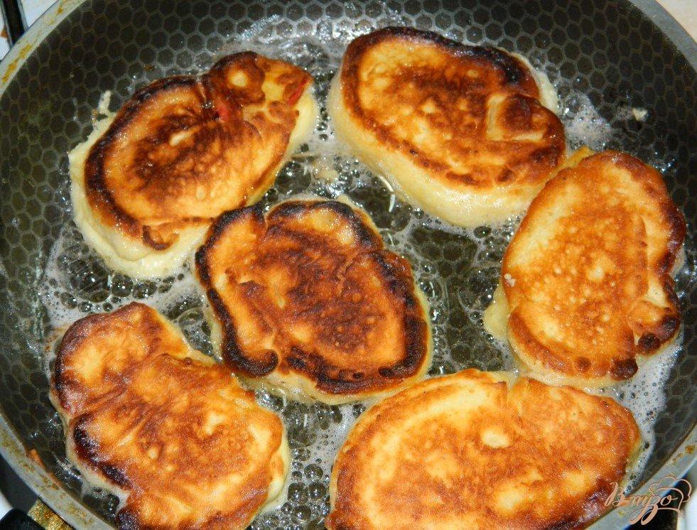 Рецепт оладушек с творогом с пошагово
