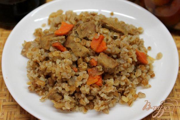 фото рецепта: Темный булгур с телятиной и овощами