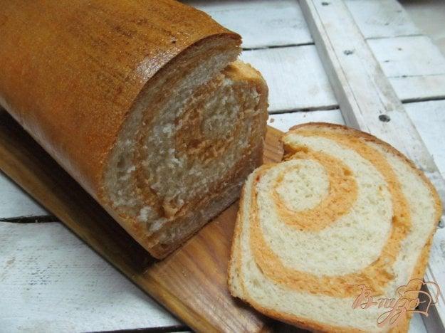 фото рецепта: Хлеб с томатом