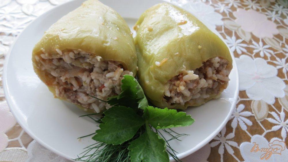 рецепт фаршированных болгарских перцев в духовке с фото