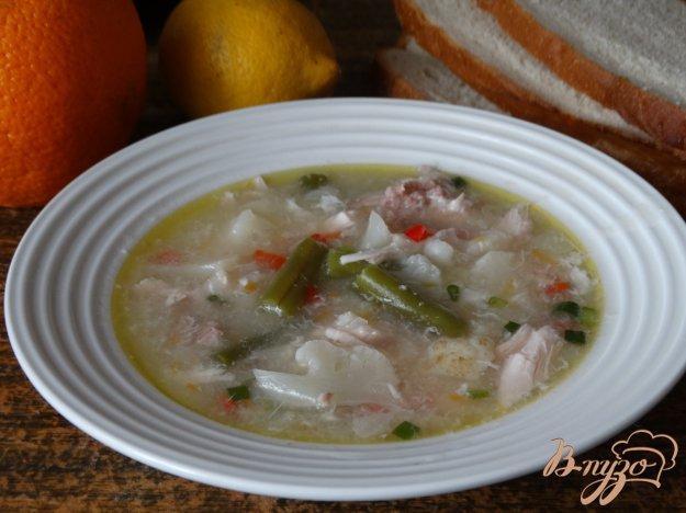 фото рецепта: Овощной суп с саго