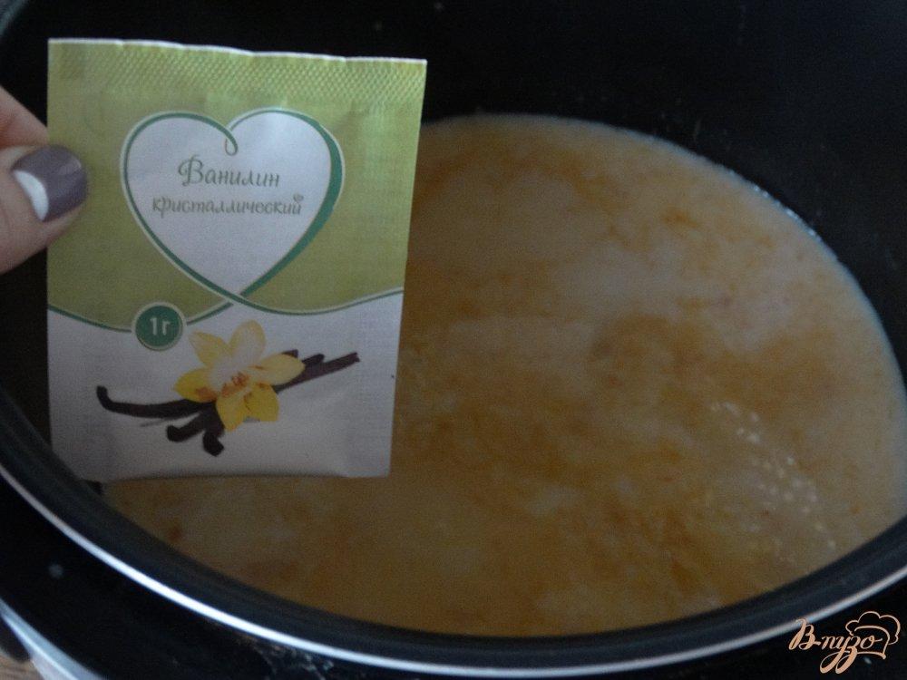 Фото приготовление рецепта: Тыквенная каша в мультиварке шаг №6