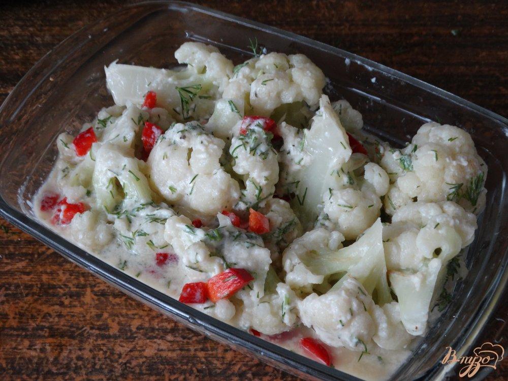 Цветная капуста запеченная с сыром рецепт пошагово