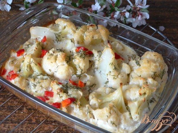 фото рецепта: Цветная капуста запеченная с сыром