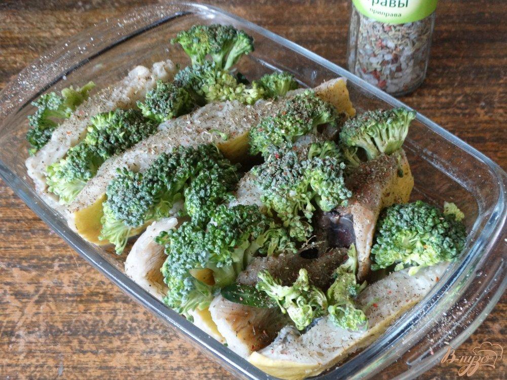 блюда из брокколи рецепты в духовке с