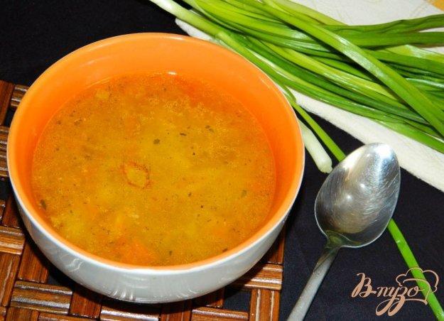 фото рецепта: Суп с фаршем и сельдереем