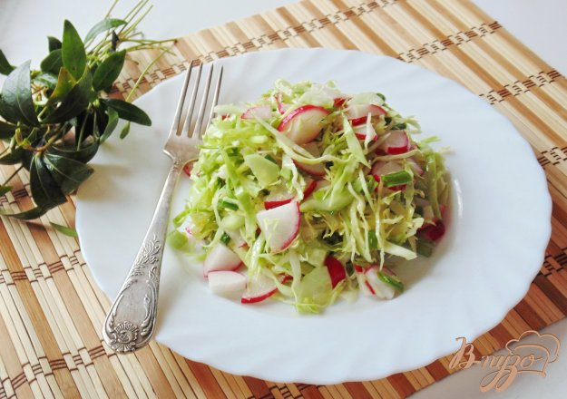 фото рецепта: Салат с молодой капустой