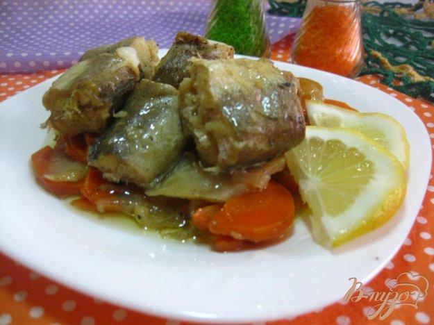 фото рецепта: Хек запеченный с овощами