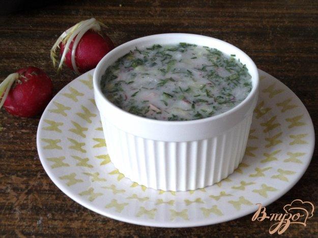 фото рецепта: Окрошка на йогурте