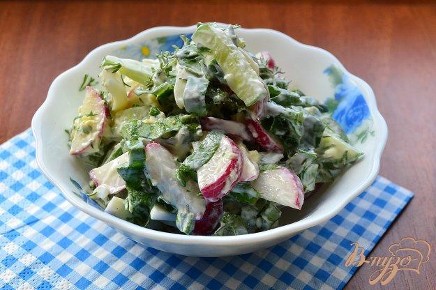 фото рецепта: Весенний салат со щавелем