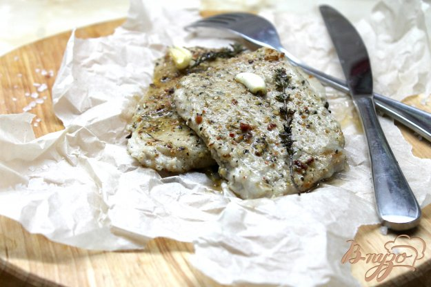 фото рецепта: Жаренная свинина с ароматными травами