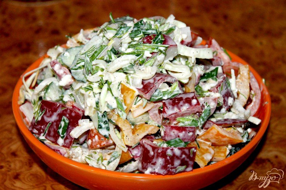 Домашние салаты с фото рецепты