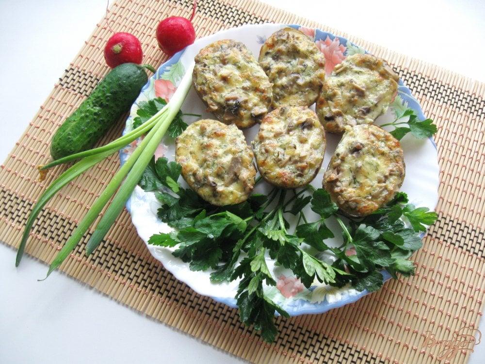 вкусный запеченный картофель в духовке в рукаве рецепт