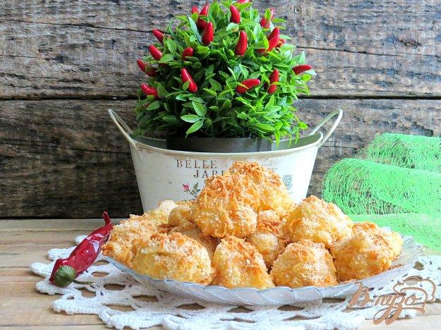 фото рецепта: Ёжики из цветной капусты