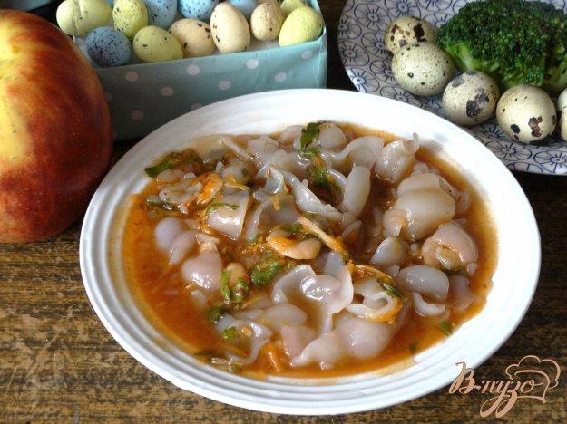 фото рецепта: Паста с креветками в томатном соусе