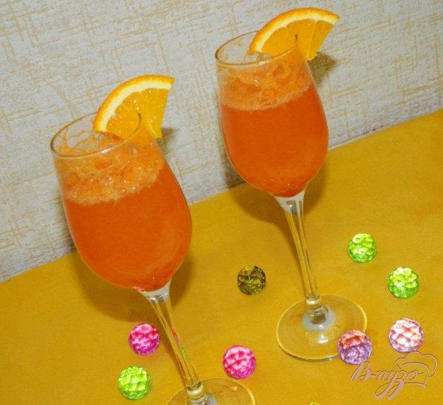 фото рецепта: Апельсиновый коктейль с шампанским