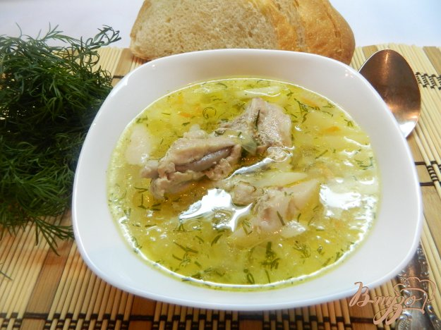 фото рецепта: Суп из свиных ребрышек
