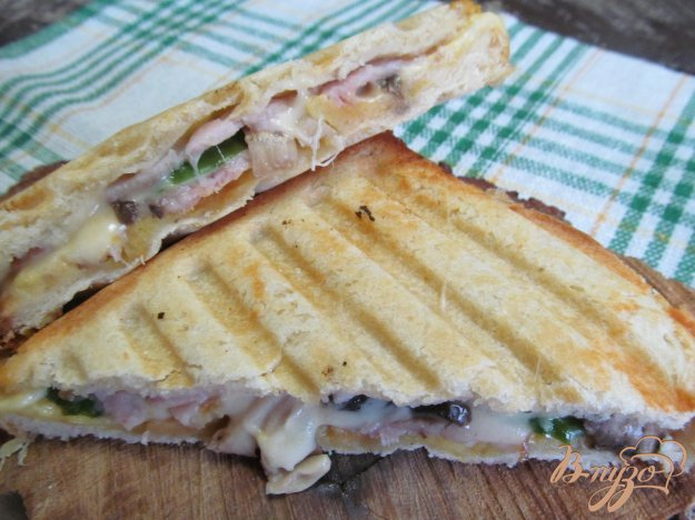 Рецепты в бутерброднице 3 в 1