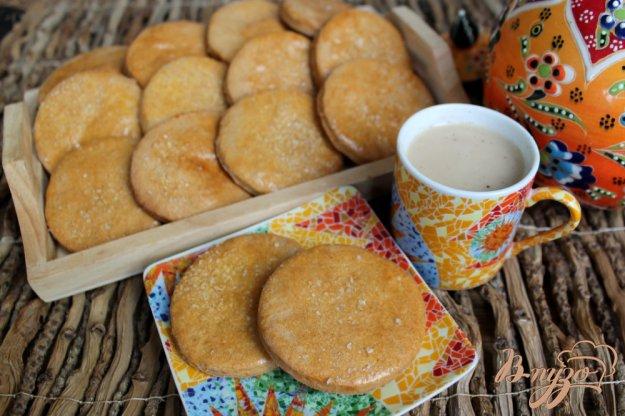 фото рецепта: Сахарные коржики с отрубями и ванилью