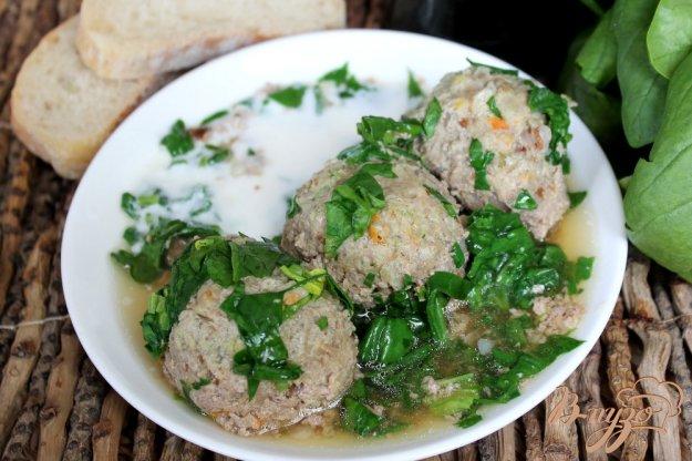 фото рецепта: Гречаники с говядиной и шпинатом